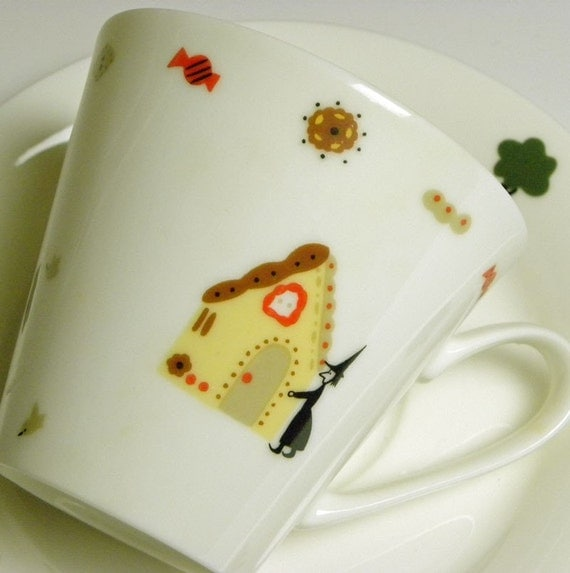 Fairytale Cup and Saucer Set - Hansel and Gretel