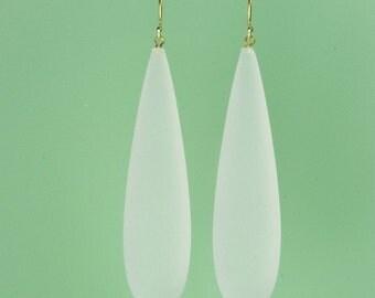 Vintage Lucite Drop Earrings