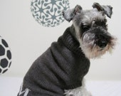 The Minimalist - cat \/ dog turtleneck sweater with option to monogram RESERVED FOR FSALTER
