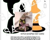 WITCH HAT TEMPLATE...COMES IN PDF AND WPC FORMAT