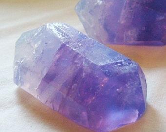 3 oz. Soap/Amethyst Crystal Soap