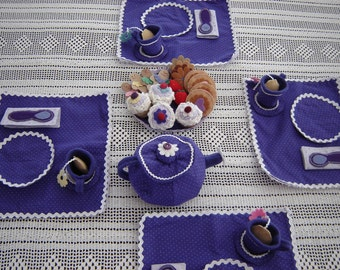 Tea Party Set  - Custom made just for you