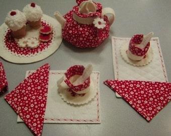 Fabric Tea Party Set