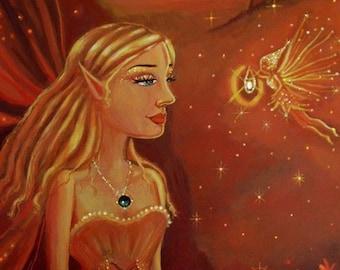 Dusk - Fairy ACEO