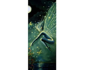 Fairy Bookmark - Crystal Water Sprite - from Original Painting by Susan Rodio