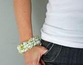 fabric bracelet pdf file (by V and Co)