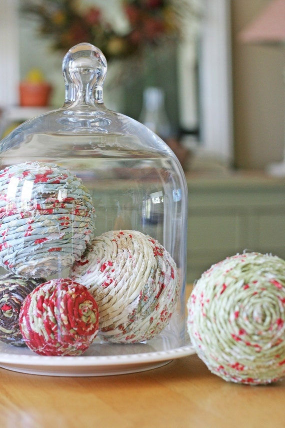 fabric decorative balls pdf file (by V and Co)
