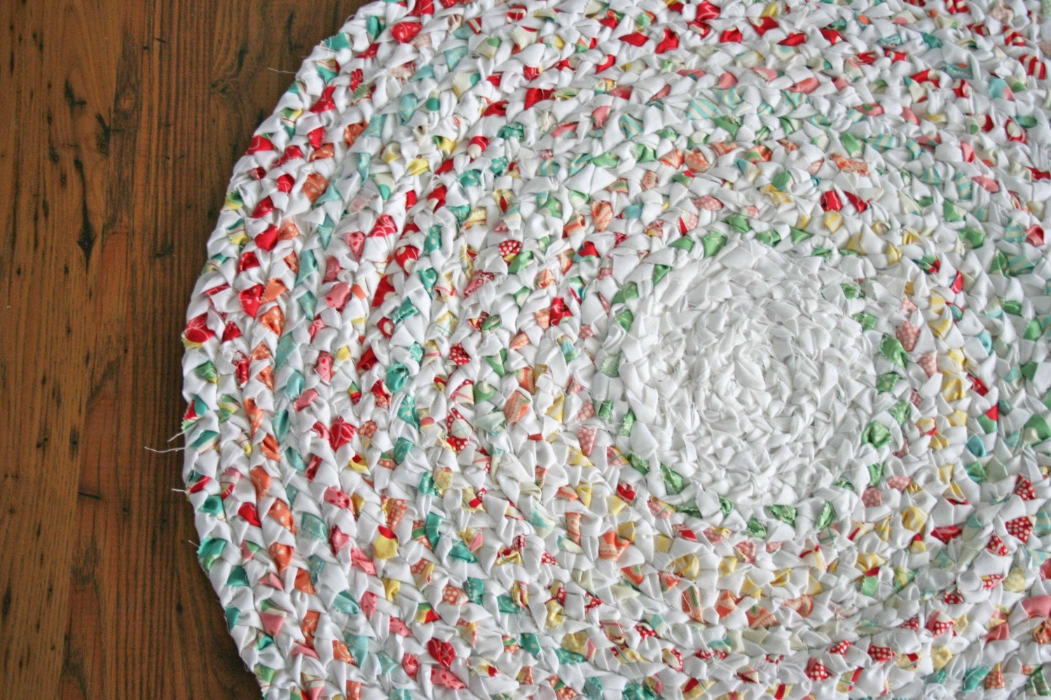 fabric rag rug instructions