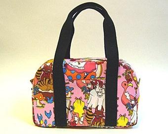 SALE - Alice in wonderland handbag (pink)