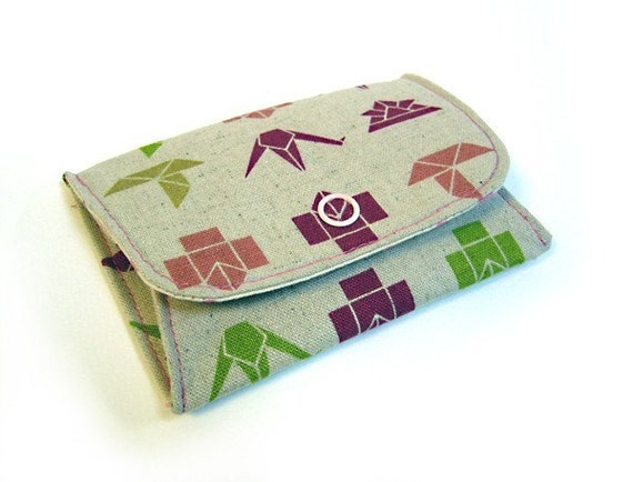Japanese Origami coin purse by mikishmink on Etsy - photo#33