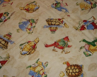 Baby Quilt Woodland Critters Baby Shower Gift Boy Girl
