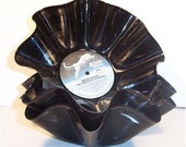 Recycled Record Chip Bowls - 3 Pack Gift Set