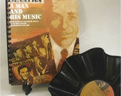 FRANK SINATRA A Man And His Music - 2 Album Set - Recycled Record Bowls and Notebook Gift Set