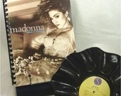 MADONNA - Like A Virgin - Recycled Record Chip Bowl and Journal Gift Set