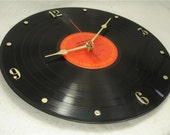BOB DYLAN Recycled Record Vinyl Wall Clock - Greatest Hits