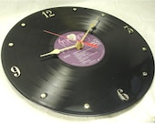 STEVIE NICKS Recycled Record Vinyl Wall Clock - The Wild Heart