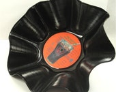 BEATLES - Rock 'N' Roll Music - Recycled Record Chip Bowl (A)