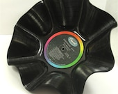 The BEATLES - Something New - Recycled Record Chip Bowl