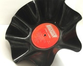 ROLLING STONES - Big Hits - Recycled Record Chip Bowl