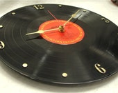 WILLIE NELSON Somewhere Over The Rainbow - Recycled Record Clock
