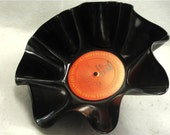 BILLY JOEL Glass Houses - Recycled Record Chip Bowl