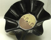 BEATLES Love Songs (B) - Recycled Record Chip Bowl