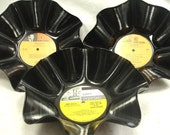 RAT PACK 3 Pack - Frank Dean Sammy - Recycled Record Chip Bowl Geekery