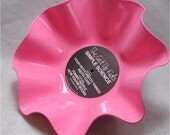 The GET UP KIDS Simple Science - Recycled Record Chip Bowl - Pink Color Vinyl