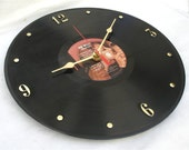 BOB WELCH French Kiss - Recycled Record Wall Clock