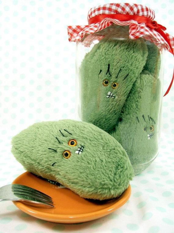 RESERVED FOR LAUREN Plush Pickle Preserve Kit