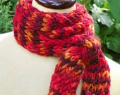 Arequipa Hand Knit Scarf - Trabajos del Peru