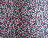 "PEPPER (Pink) Liberty Tana Lawn Cotton - 10"" Long x 26"" Wide (25 x 66 cms)"