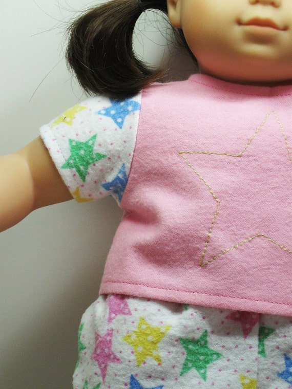 Bitty Baby or Bitty Twins Doll Clothes - Pajamas