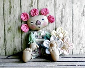 CF 230 SWEET PEA - Flower Doll E-Pattern