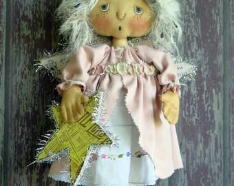 CF264 Wynter Angel Sewing Cloth Angel Doll PDF E-Pattern