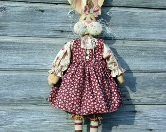 CF162 Molly McGregor PDF E-Pattern Cloth Rabbit Doll Sewing Pattern