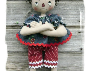 CF269 Pure Sweetness - PDF ePattern Cloth Doll