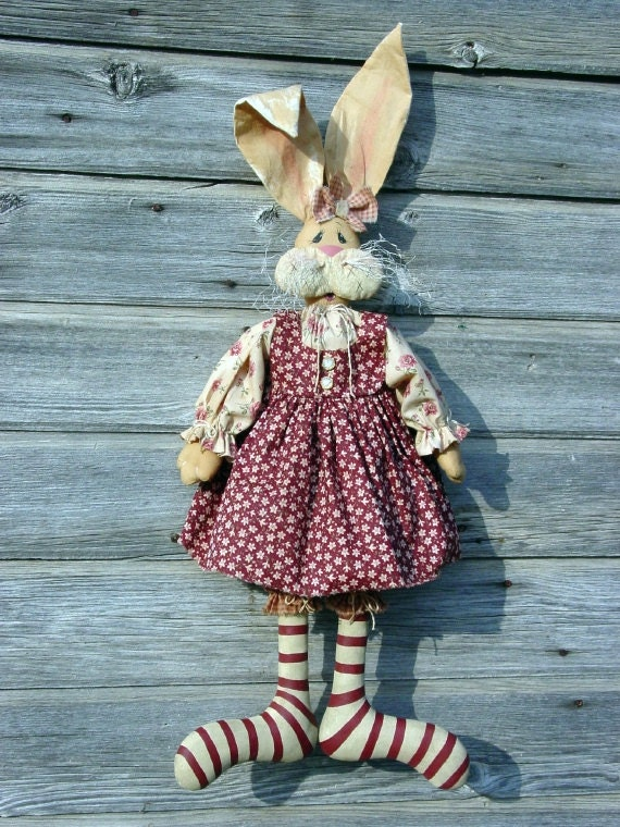Cf162 Molly Mcgregor Pdf E Pattern Cloth Rabbit Doll Sewing