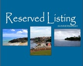 Reserved Listing - Set of Three Fine Art Photographs