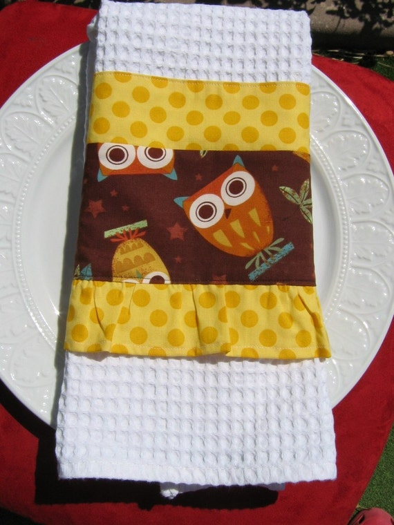 Amy Schimler's On A Whim  - Sassy Waffle Cotton Towel