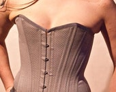 Ode To Steampunk- Grey Corset