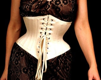 Tightlacing Corset, Cotton Lingerie
