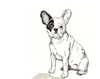 French Bulldog 8x10 Print