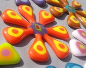 Crazy Daisy Magnet - Orange Zest