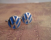 VW Volkswagen Logo Cuff Links