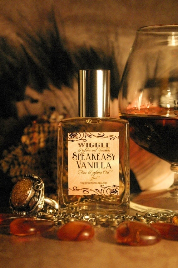 Speakeasy Vanilla Perfume Oil 15ml