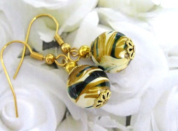 Art Deco Abstract  Earrings