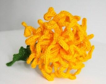 Crochet flowers - Home Deco - Table Set - Bouquet - Crochet Chrysanthemum
