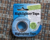 SAVE 25% and help save our LYS: Removable Highlighter Tape, Pattern Tape for sewing, needlepoint, knitting or crochet