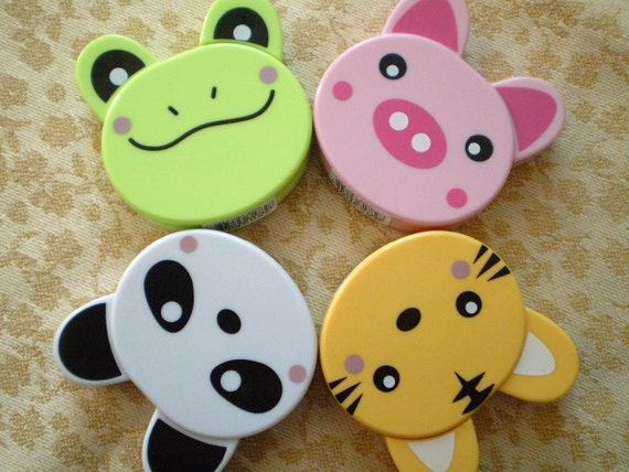 4 Retractable Tape Measure Assortment Set, Kawaii Patry Favors, Knitting Supplies, School Supplies